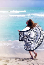 Spiced Equestrian Roundie Towel