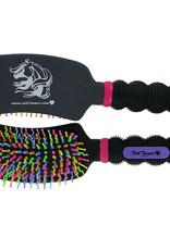 Professional's Choice Tail Tamer Curved Rainbow Brush