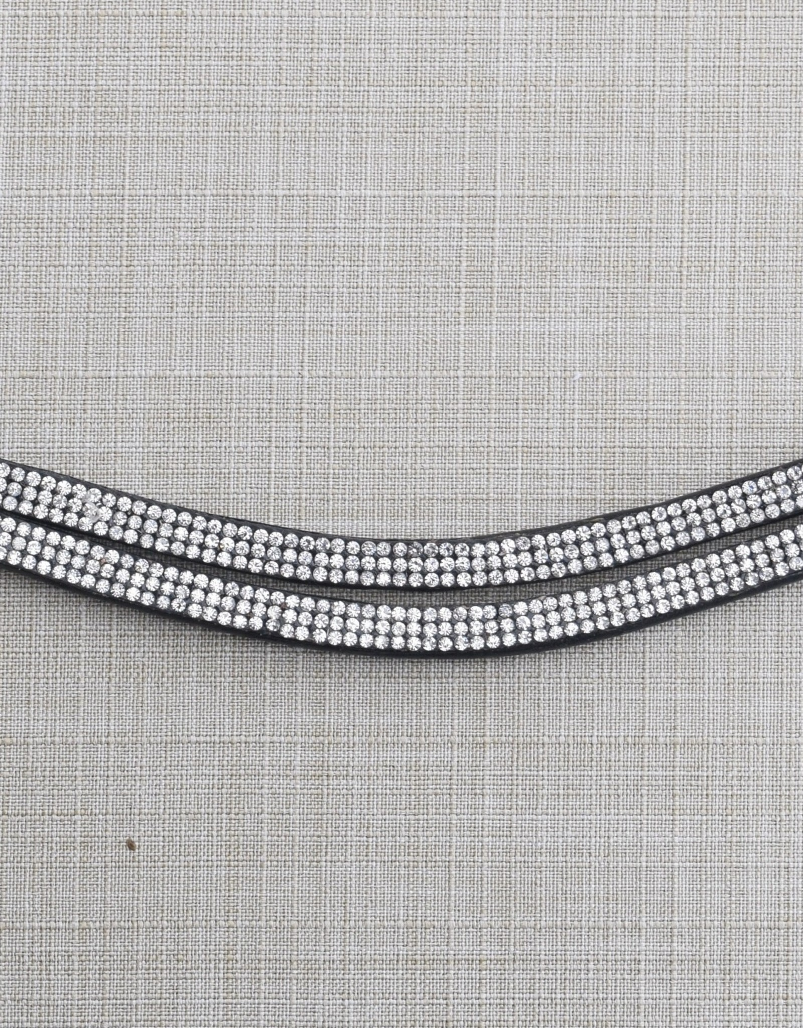Red Barn Passage Double Row Crystal Browband