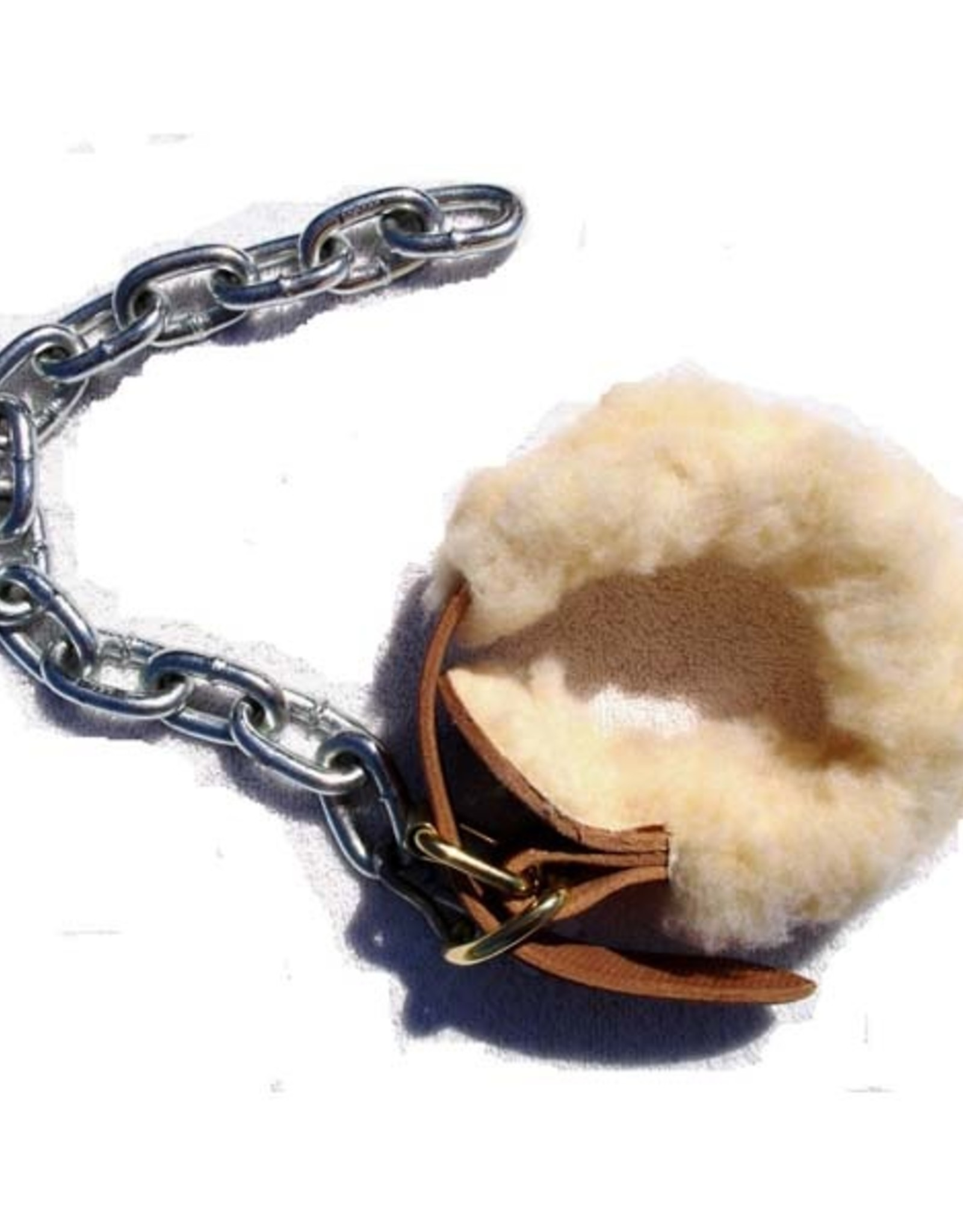Sheepskin Lined Leather Kicking Chain