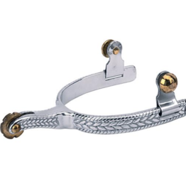 Weaver Mens' Engraved Roping Spur