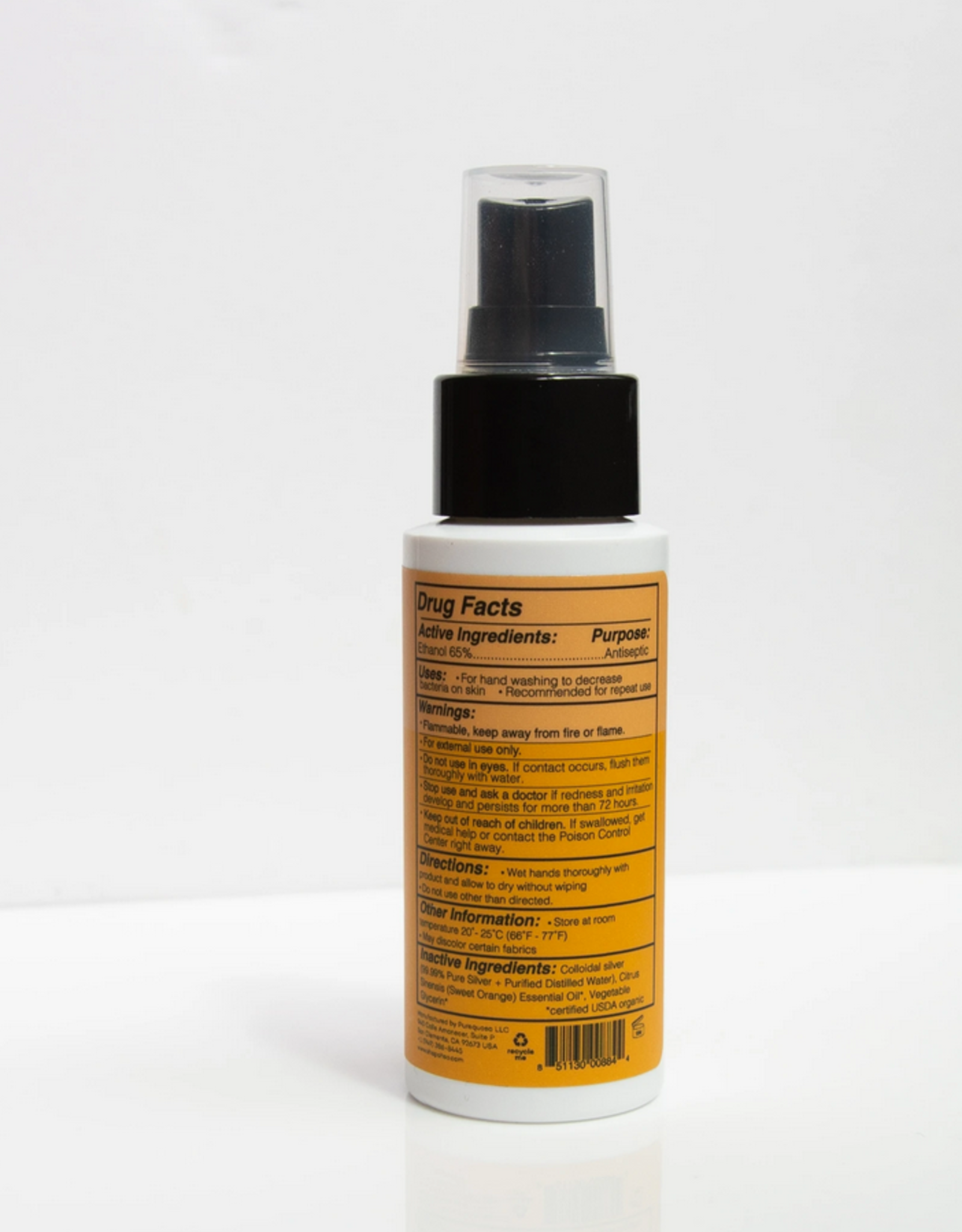 Oh.So OH.SO Sweet Orange Hand Sanitizer Spray 2oz