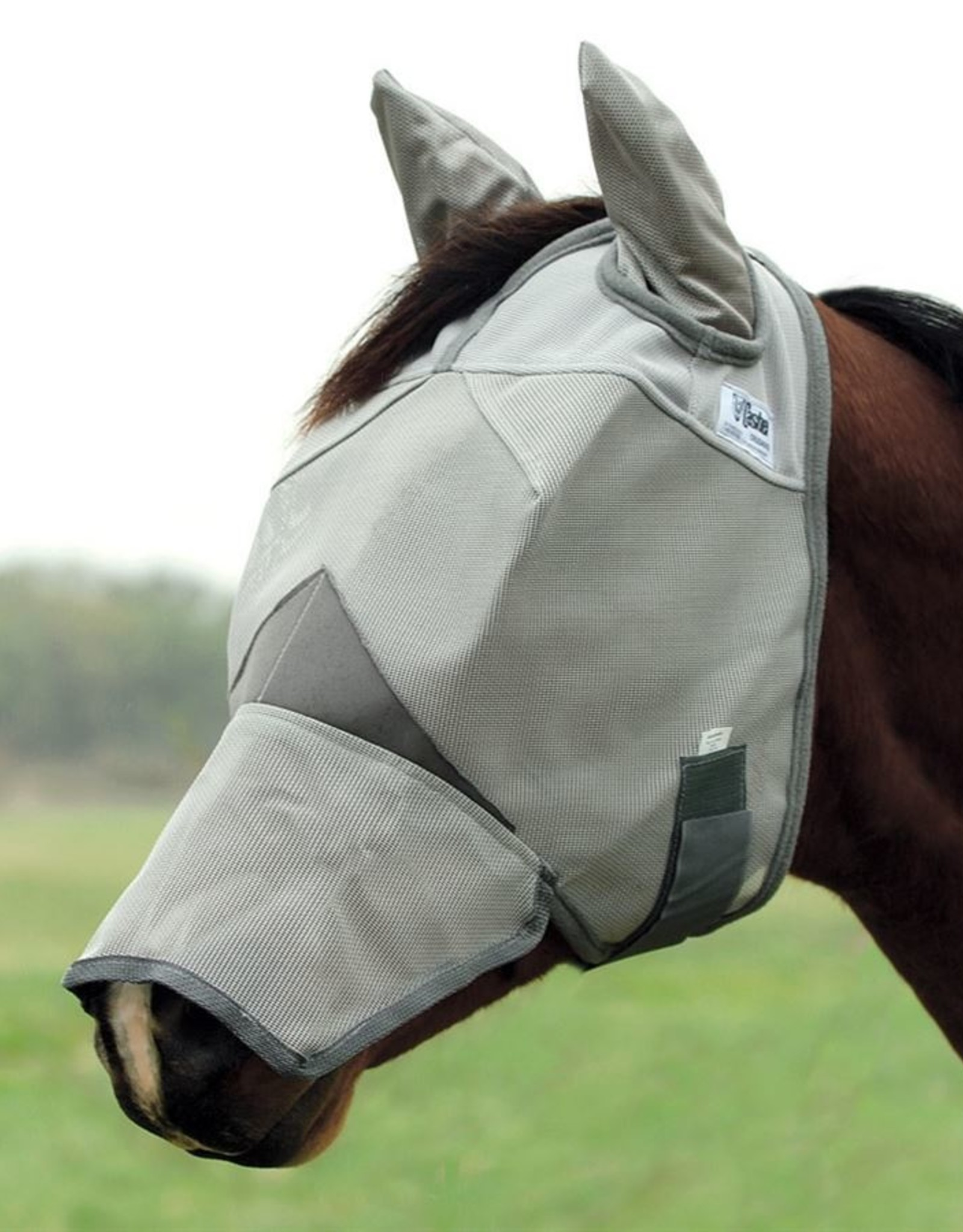 Cashel Cashel Crusader Cool with Nose & Ears Fly Mask