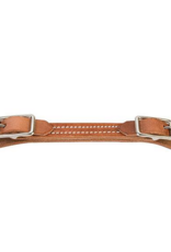 Weaver Double Buckle Leather Curb Strap