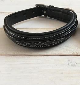 Pup and Pony Grand Prix Fancy Patent Dog Collar