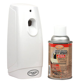 Country Vet Country Vet Auto Fly Dispenser with Spray