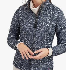 Joules Ladies' Elodie Print Quilted Jacket