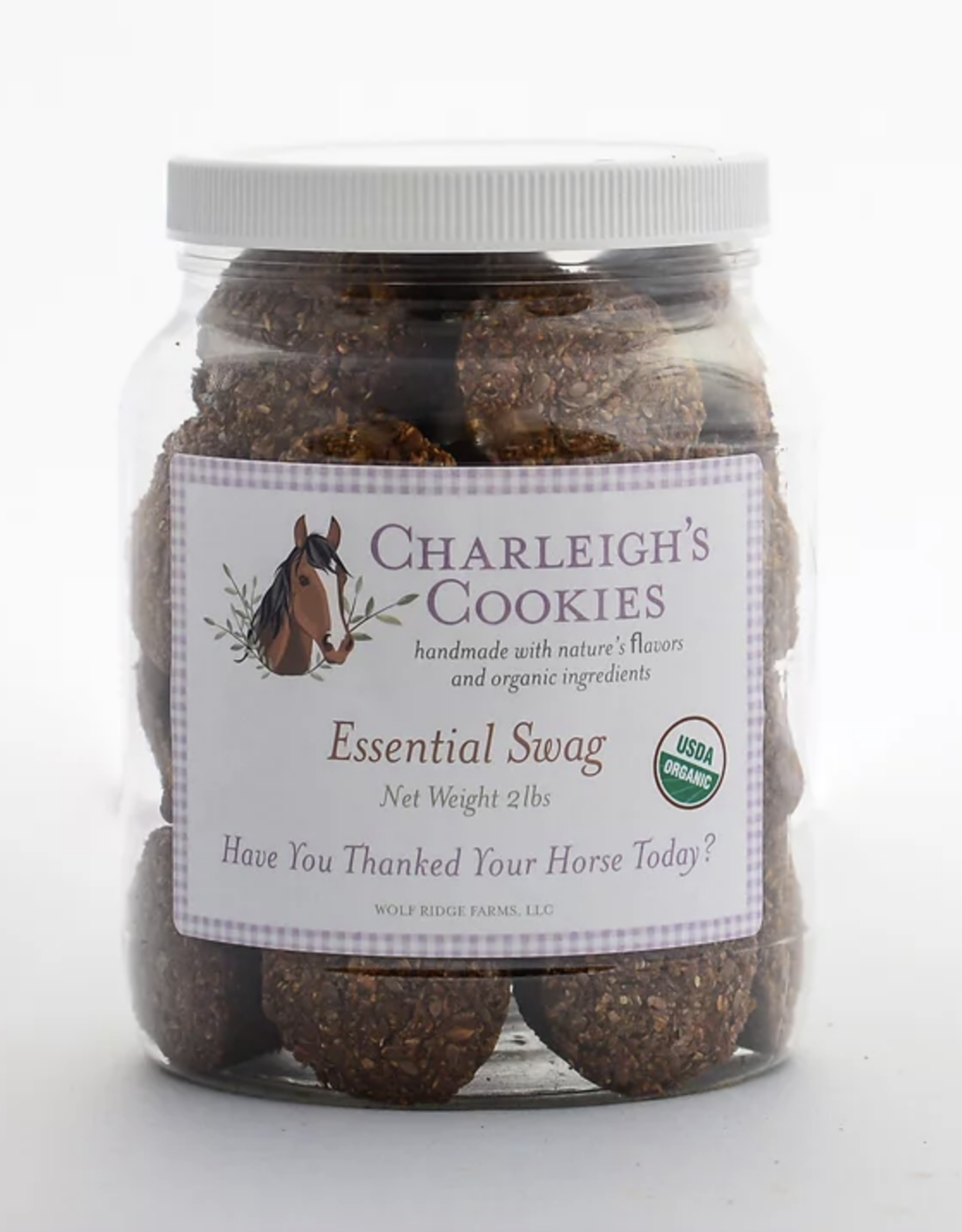 Charleigh's Cookies Charleigh's Cookies Essential Swag 2lb Cookie Jar