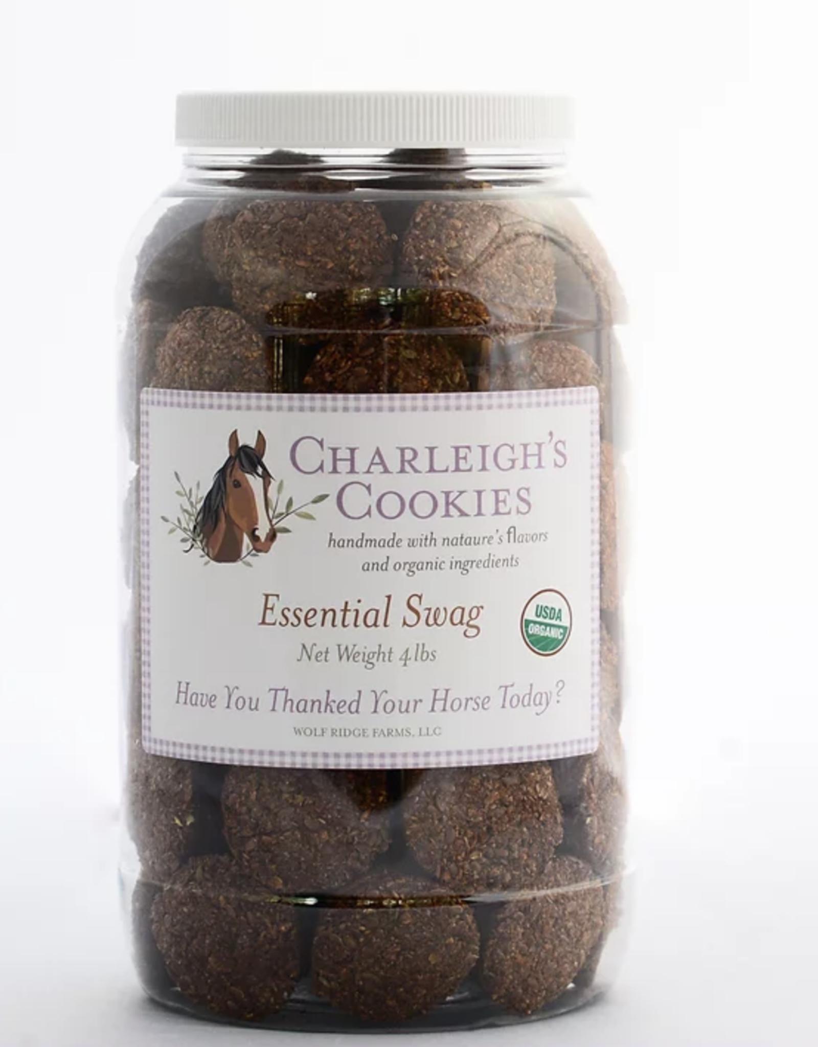 Charleigh's Cookies Charleigh's Cookies Essential Swag 4lb Cookie Jar