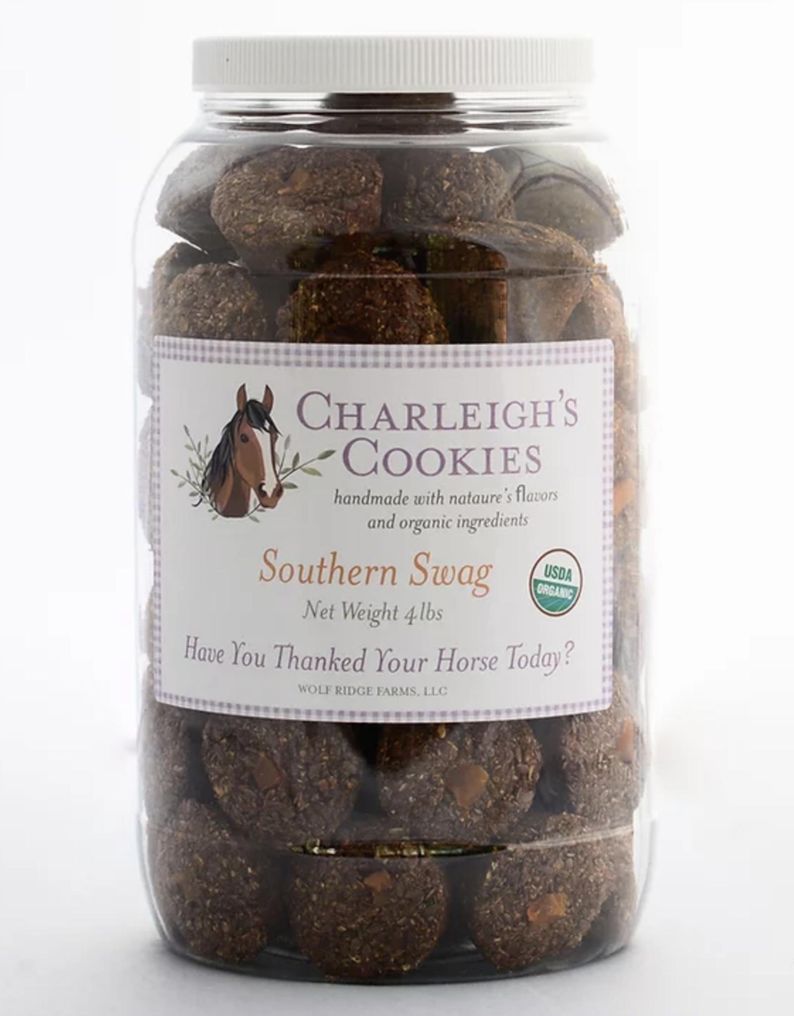 Charleigh's Cookies Charleigh's Cookies Southern Swag 4lb Cookie Jar