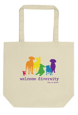 Dog is Good Dog Is Good Welcome Diversity Tote