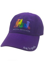 Dog is Good Dog Is Good Welcome Diversity Hat