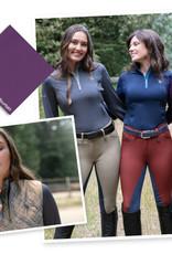 Romfh Ladies' Aachen 1/4 Zip Long Sleeve Shirt