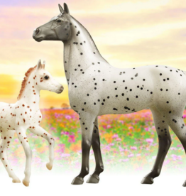Breyer Knabstrupper Horse & Foal