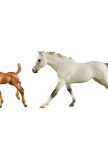 Breyer Freedom Series Thoroughbred Horse & Foal Set