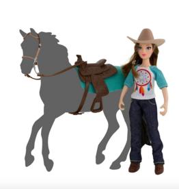 Breyer Natalie Western Rider Doll with Tack