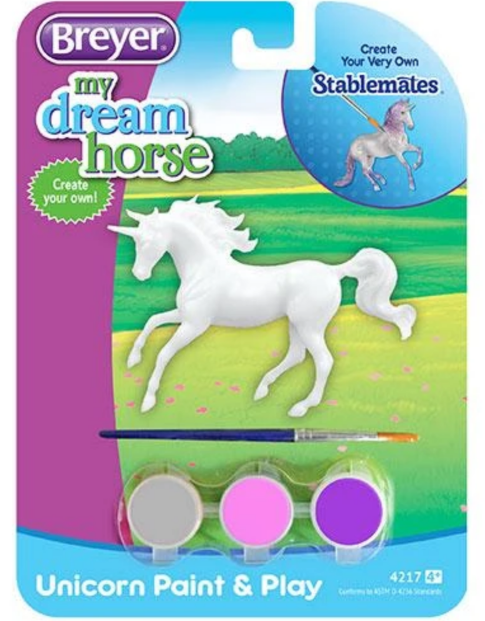 Breyer Paint & Play Unicorn