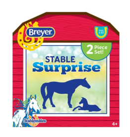 Breyer Stablemates Horse & Foal Surprise