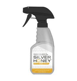Silver Honey Rapid Wound Repair Gel Spray 8oz