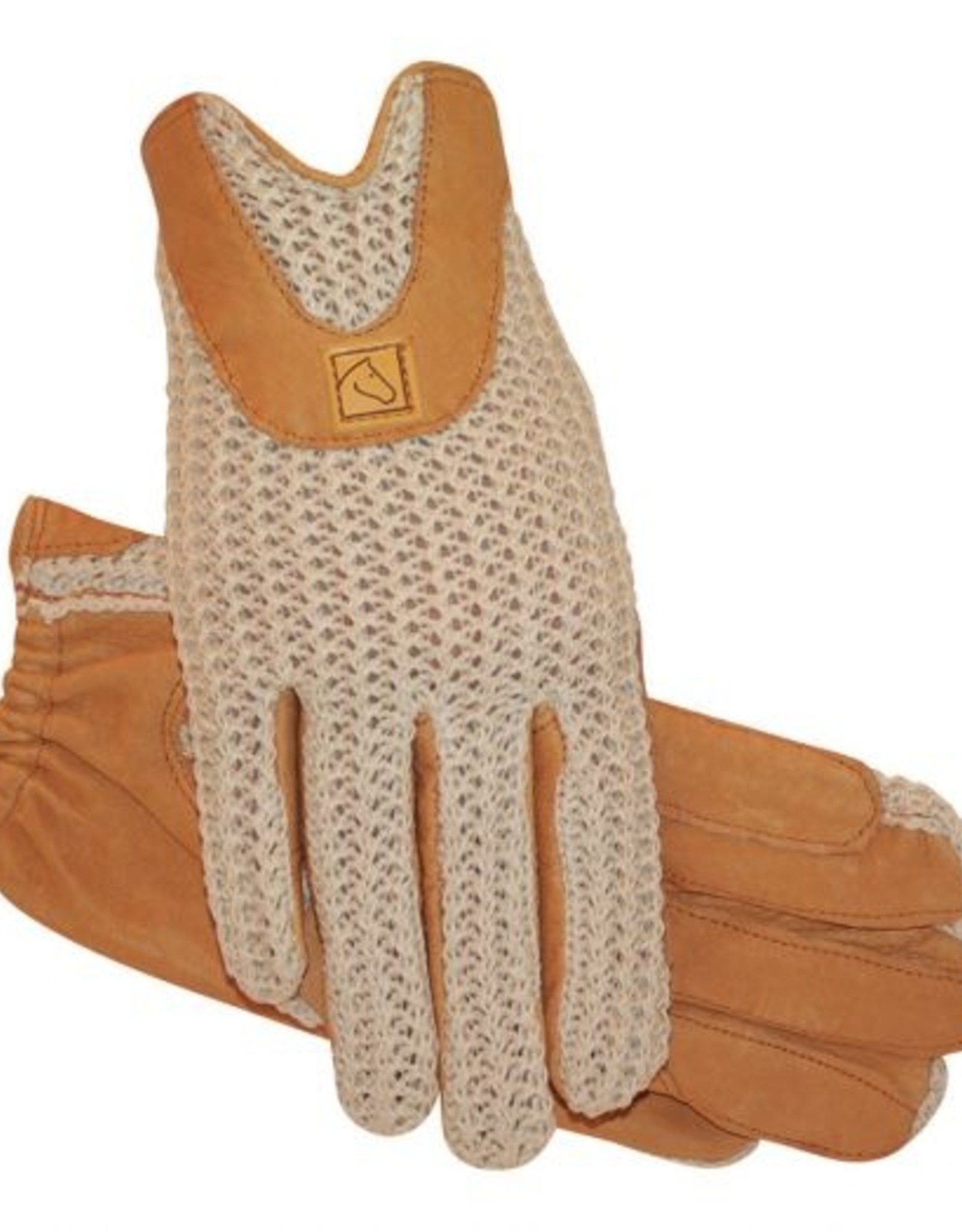 SSG Lycrochet Horseshoe Back Glove