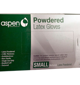 Aspen Vet Aspen Powdered Latex Glove