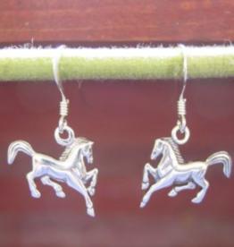 Baron Prancing Horse Dangle Earring