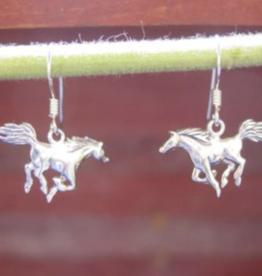 Baron Mustang Dangle Earring