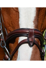 KL Select Burghley Bridle with Removable Flash