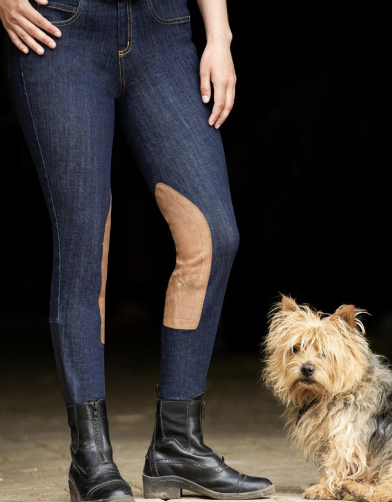 Kerrits Ladies' Denim Knee Patch Breech