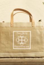 Two Bits Equestrian Two Bits Equestrian  x Apolis Crossbody Tote