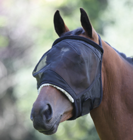 Shire's Equestrian Shires Fine Mesh Earless Flymask