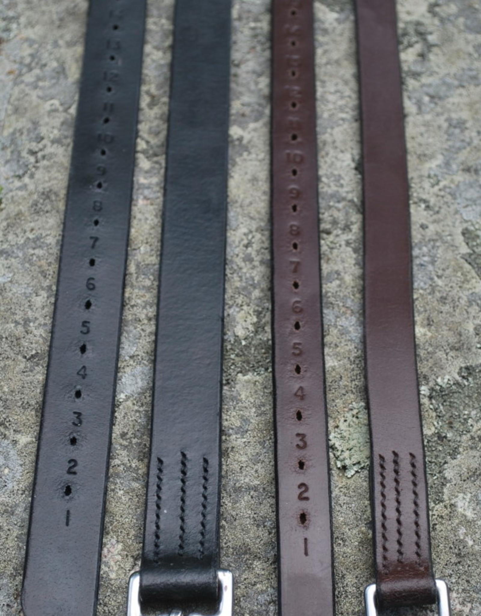 KL Select Half Hole Stirrup Leathers