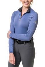 Kastel Ladies' 1/4 Zip Long Sleeve Sun Shirt