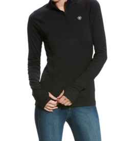 Ariat Ladies' Lowell 2.0 Solid 1/4 Zip Baselayer