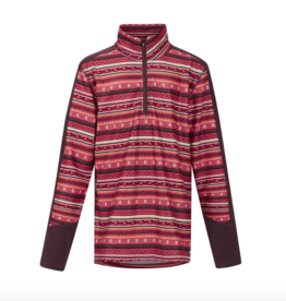 Kerrits Kids' Fair Isle Fleece Tech 1/4 Zip