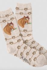 K. Bell Ladies' Crew Socks