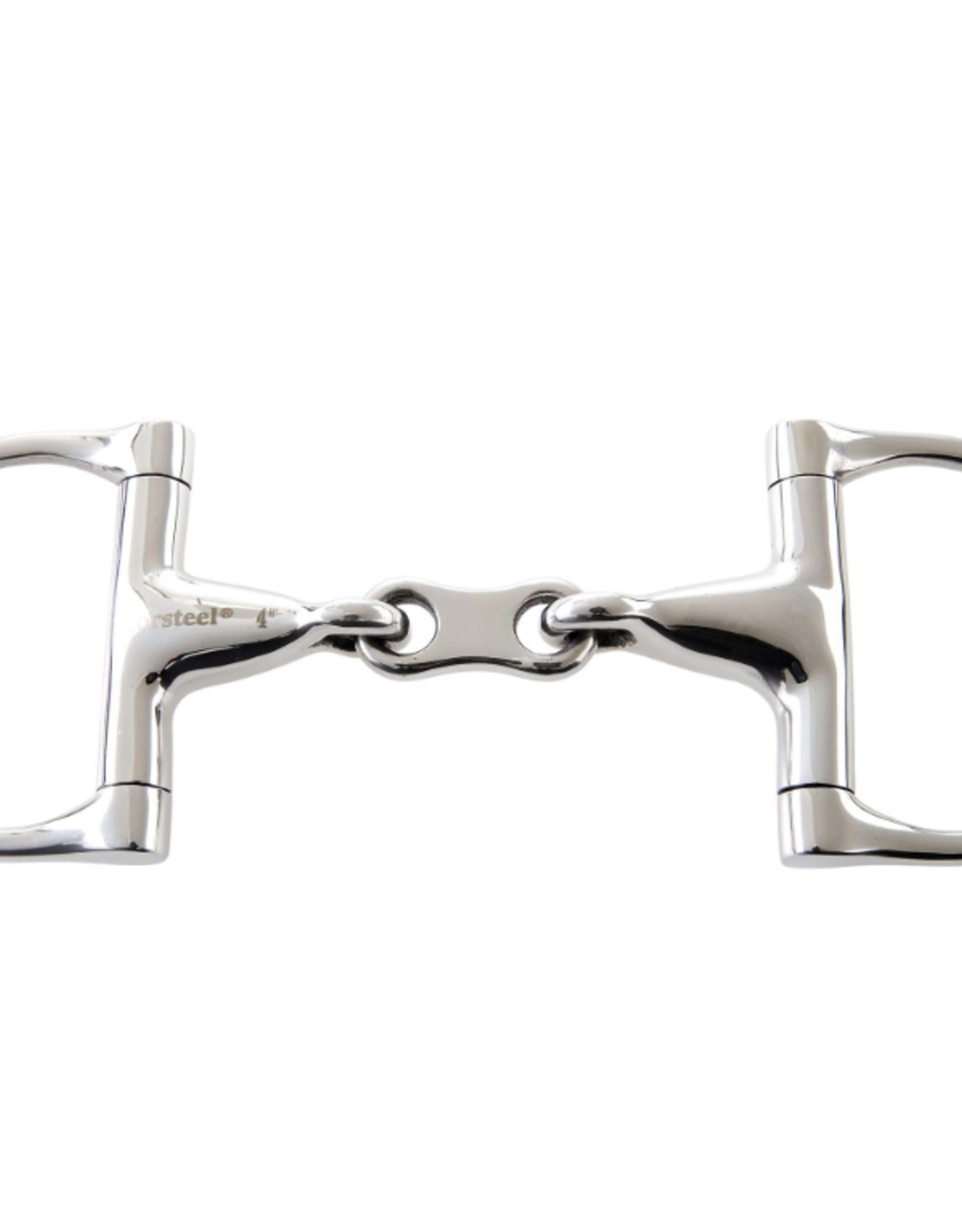 Korsteel Korsteel JP Double Jointed with French Link Dee Ring Bit