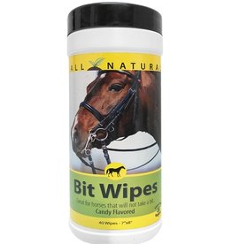 Carefree Enzymes Peppermint Bit Wipes