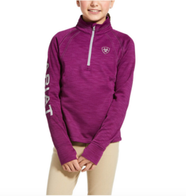 Ariat Girls' Tek Team 1/2 Zip Sweatshirt