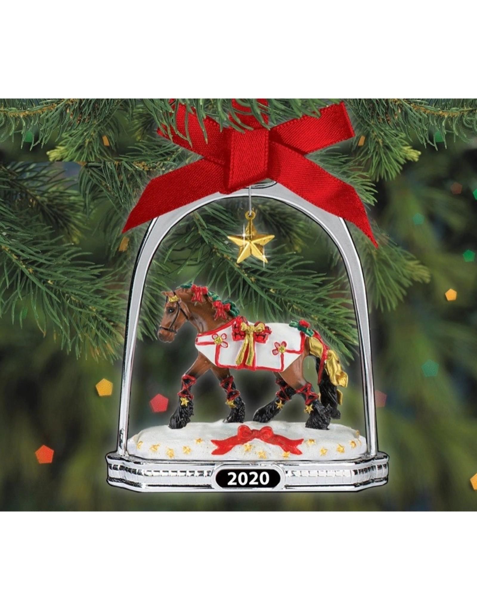 Breyer Yuletide Stirrup 2020 Ornament