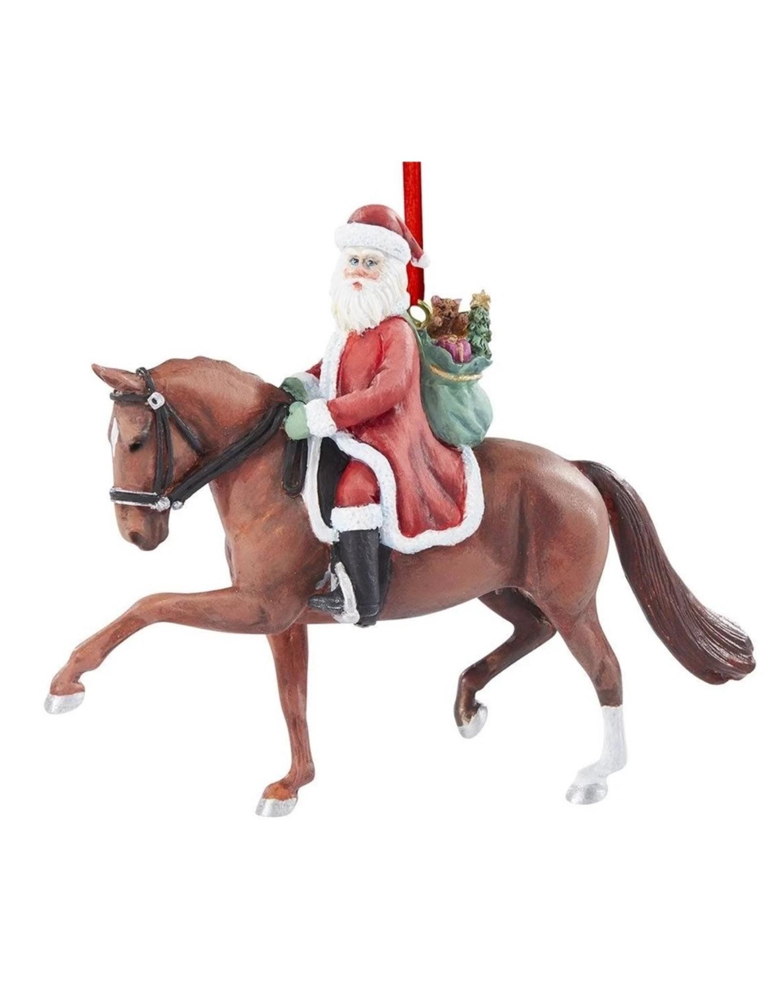 Breyer Dressage Santa 2020 Ornament