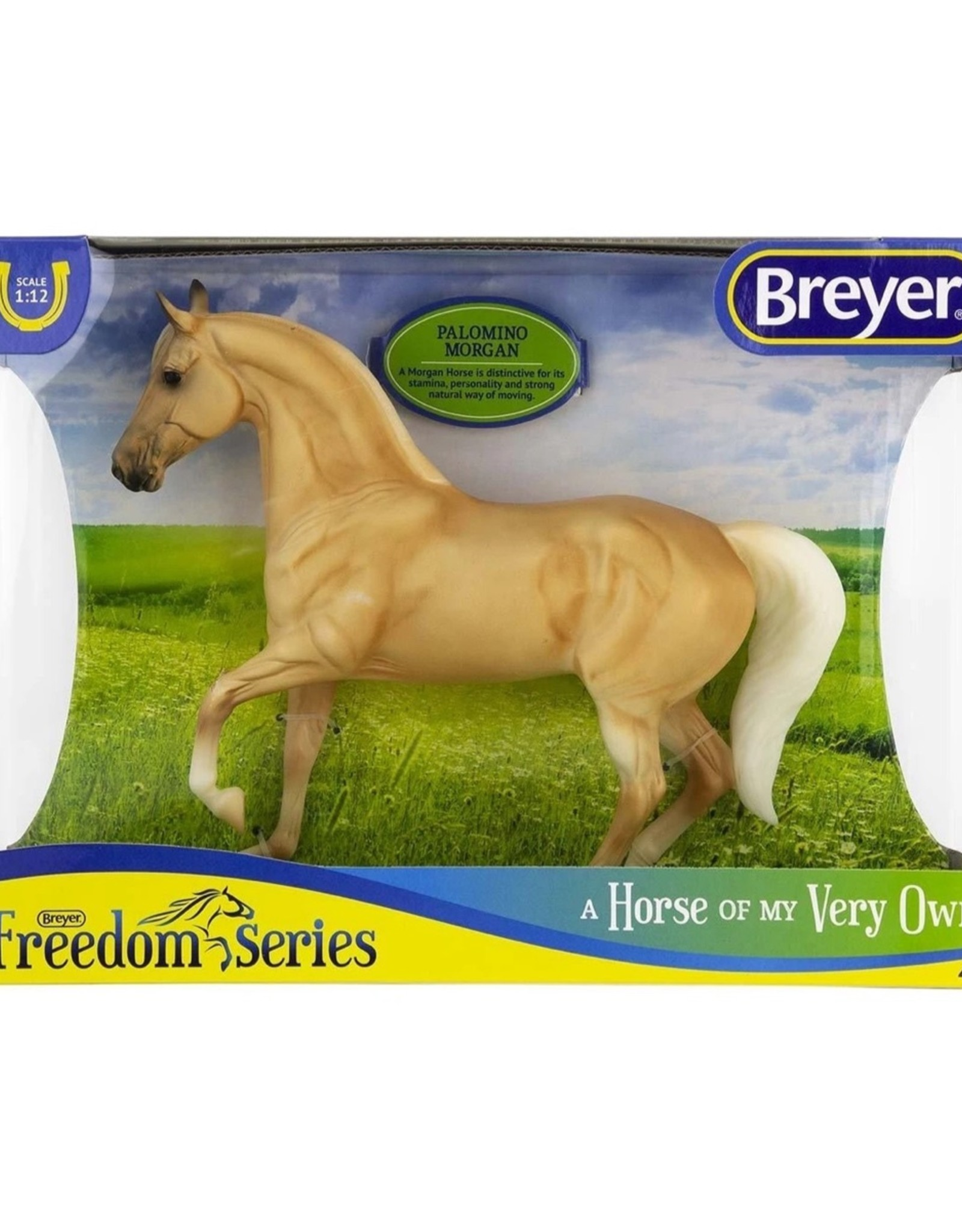 Breyer Palomino Morgan
