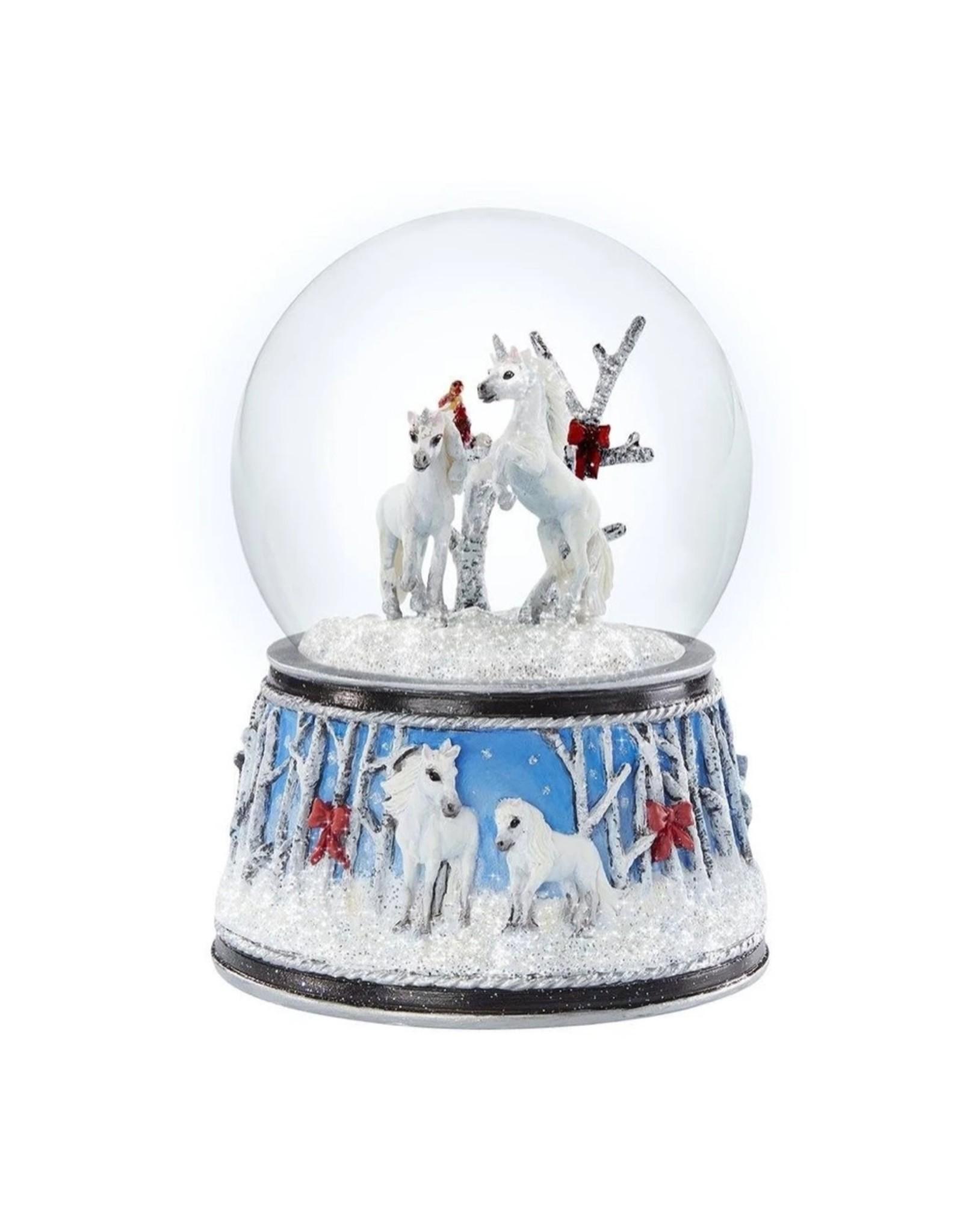Breyer Enchanted Forest Musical Snow Globe