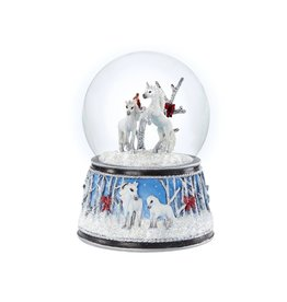 Breyer Enchanted Forest Musical Snow Globe