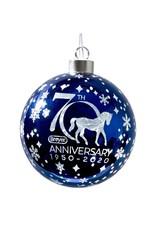 Breyer 70th Anniversary Light Up Glass Ball Ornament