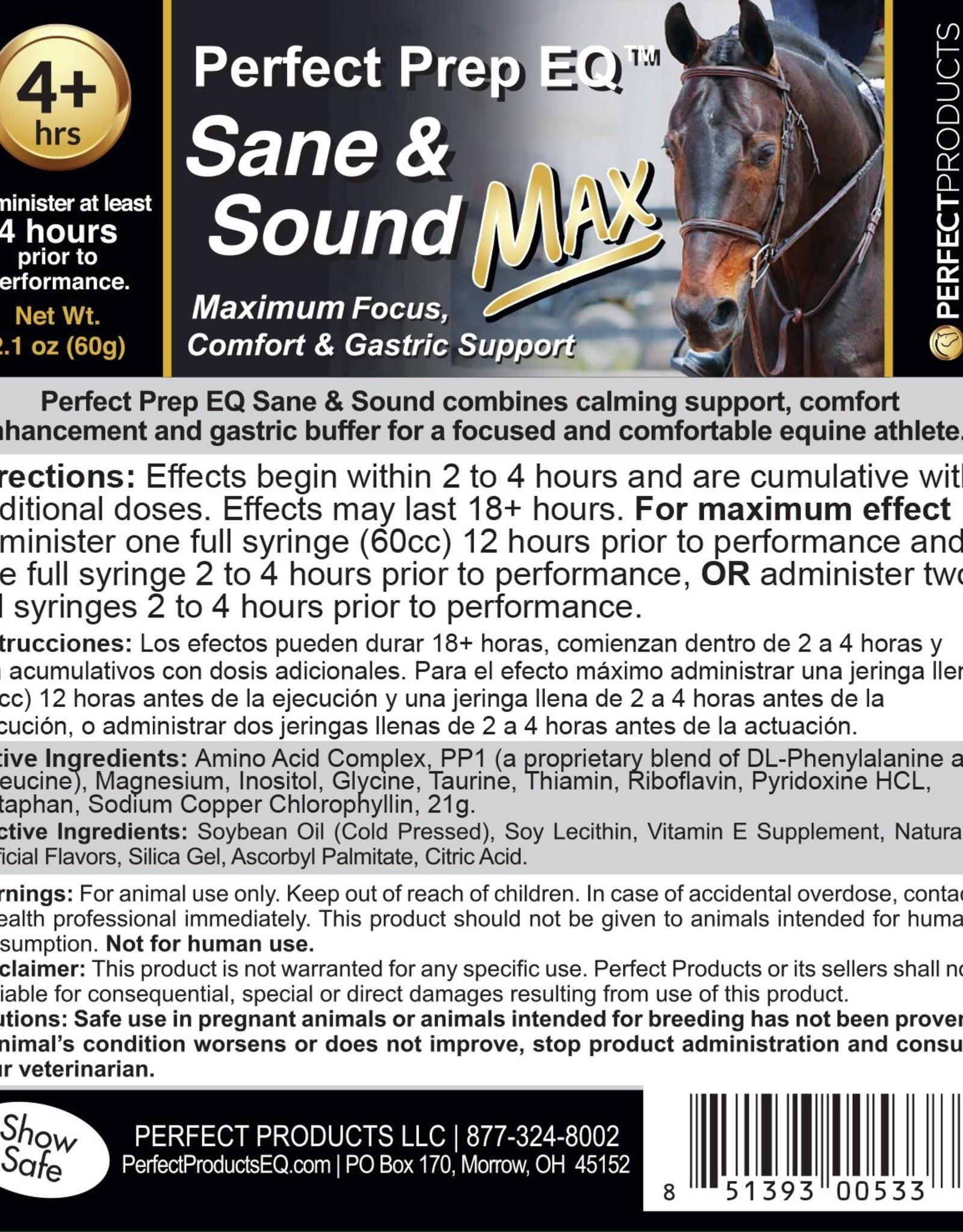 Perfect Prep EQ Sane & Sound Max