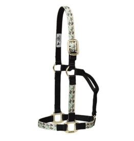 Weaver Nylon Patterned Non-Adjustable Halter