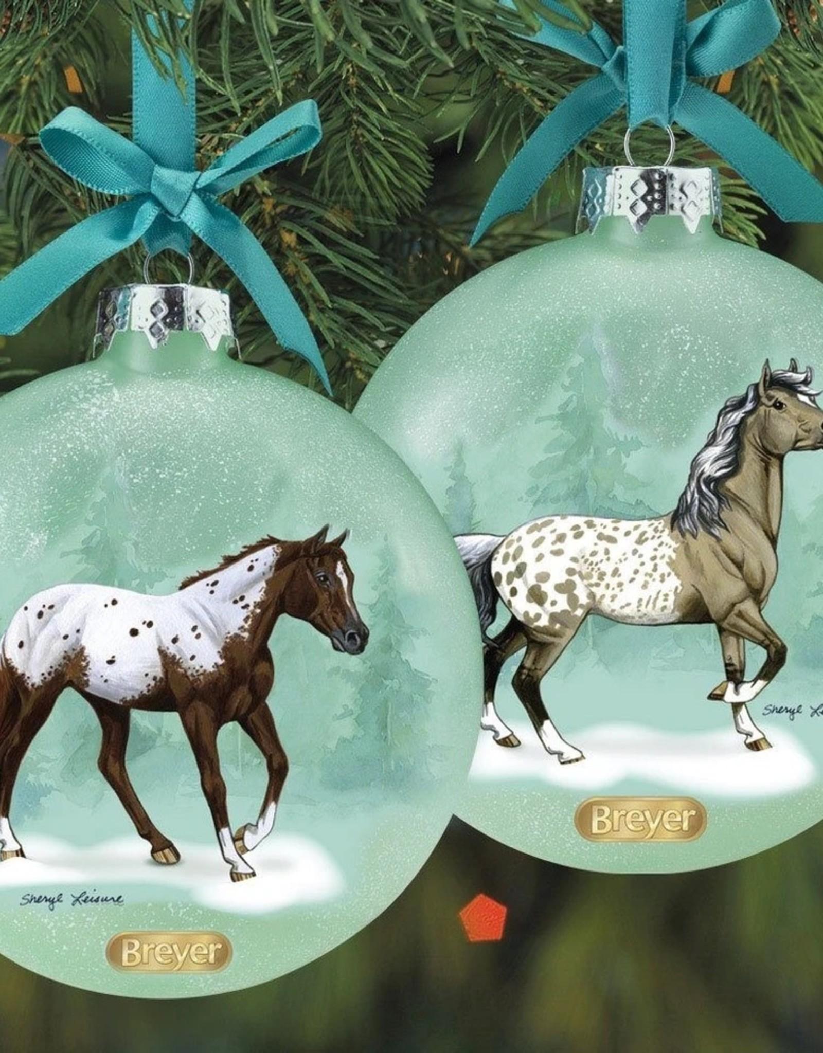 Breyer Artist Signature Appaloosas Double-Sided Ornament