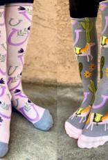 Dreamers N Schemers Ladies' Knit Socks 2 Pack