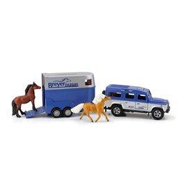 Breyer Land Rover & Trailer